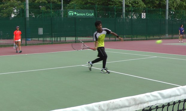 Transition volley drill