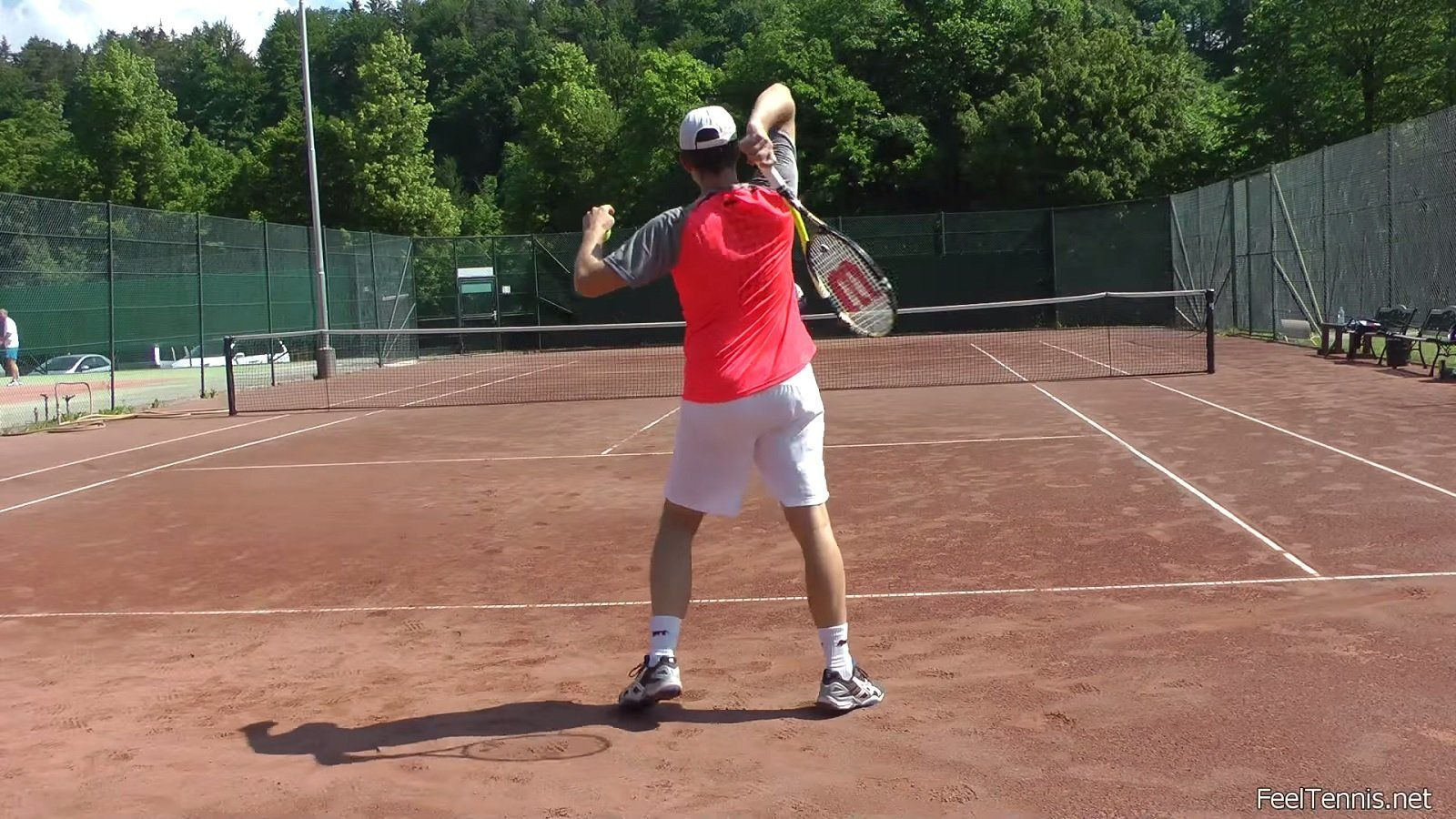 Comparison of forehand groundstrokes