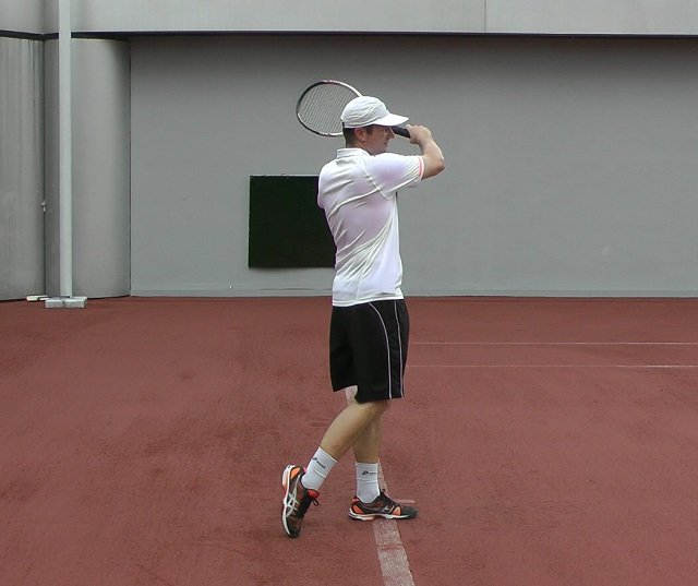 forehand weight transfer