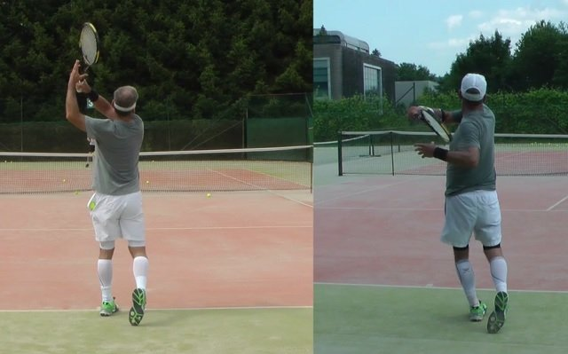 improved forehand technique