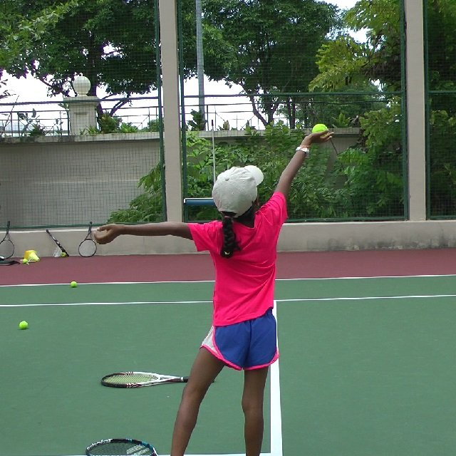 lifting drill for the serve toss