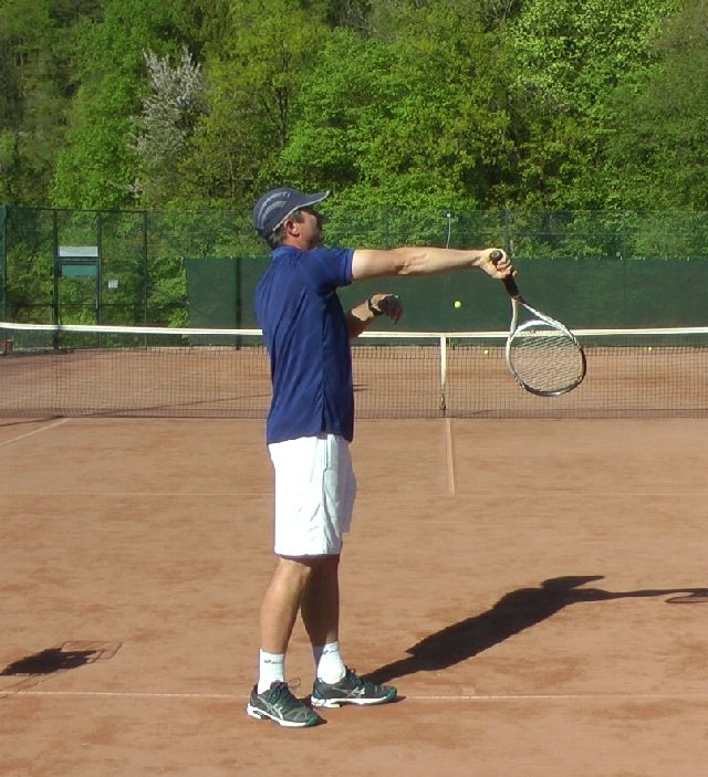 the serve pronation