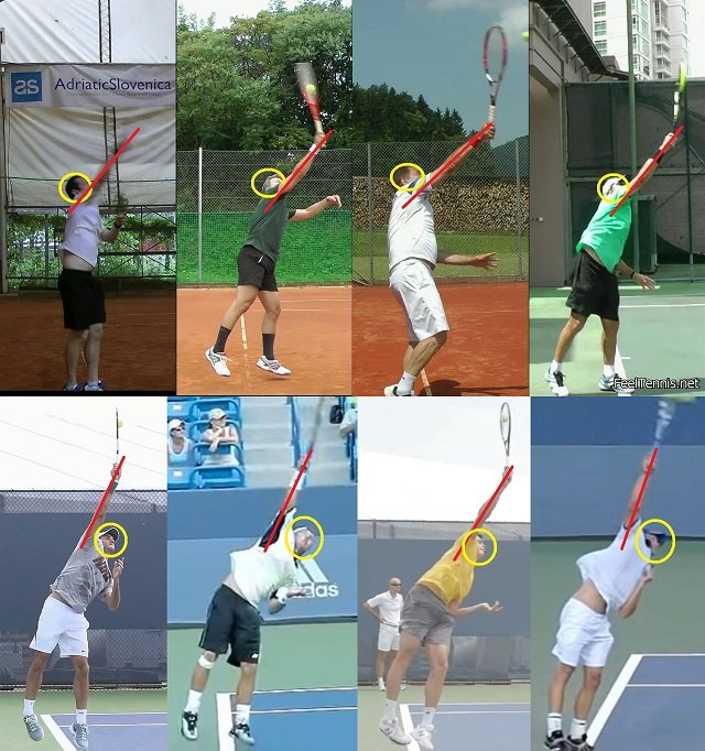difference in serve technique