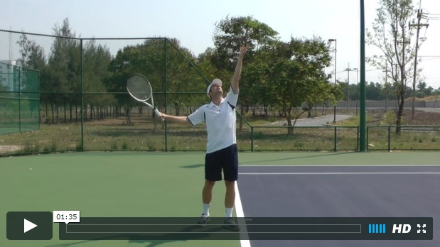 tennis serve toss fix