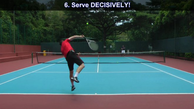 serve decisevely