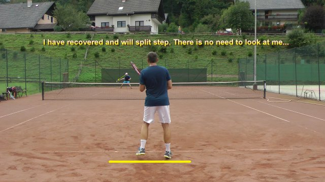 ideal recovery position in tennis