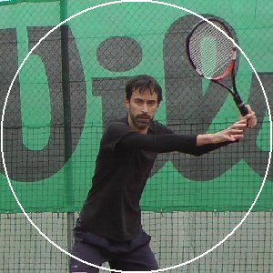 forehand in tennis