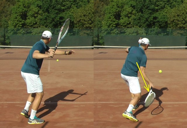 fundamental forehand swing path