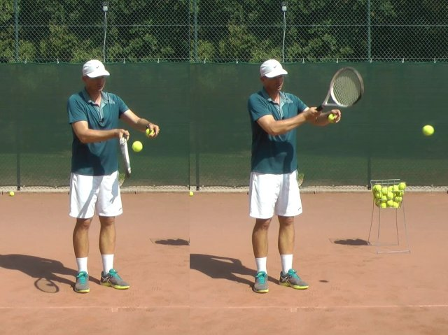 rolling topspin forehand technique