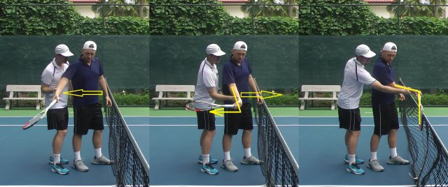 stable wrist forehand drill