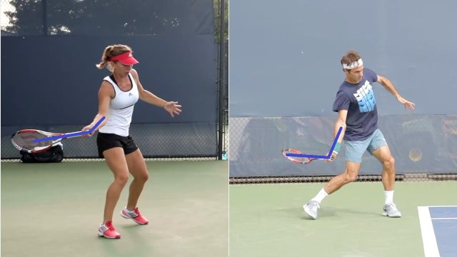 stable wrist on forehand swing
