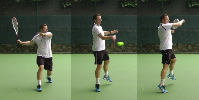 modern forehand technique