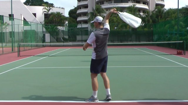 Tennis Serve Fundamentals The Swing Throw Feel Tennis