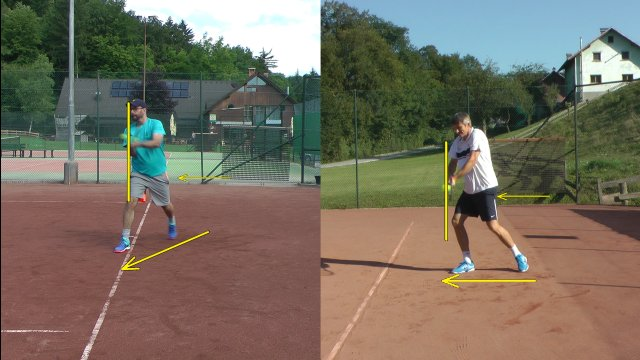 Two Handed Backhand Comparison
