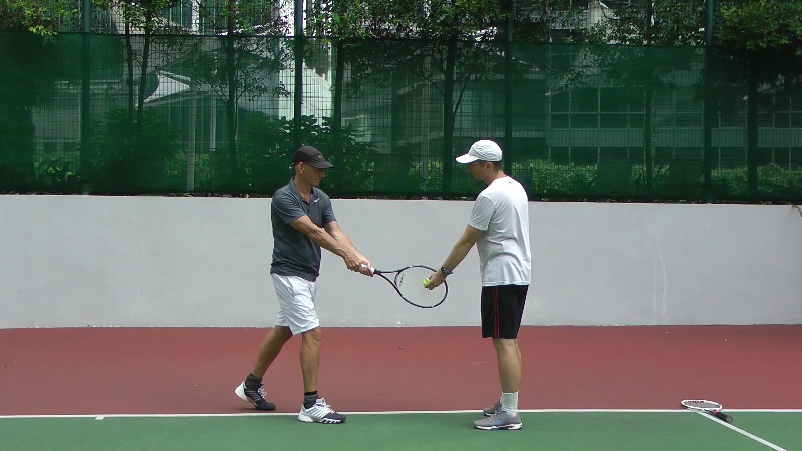 How To Diagnose Stroke Problems Two Handed Backhand Example